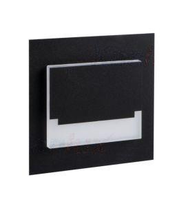 0.8W LED Iebūvējamā lampaSABIK MINI Black 29855