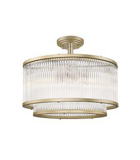Griestu lampa KAROLINA Gold 4258800
