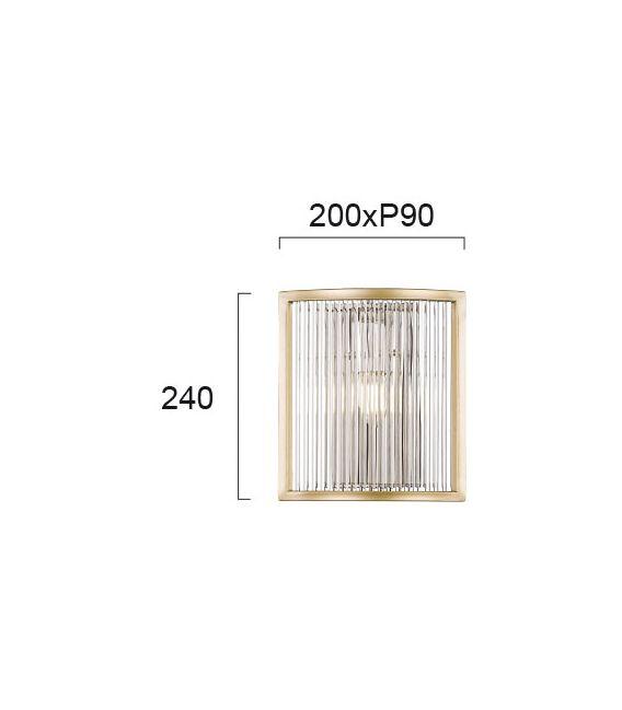 Pakabinamas šviestuvas KAROLINA Gold 4259000