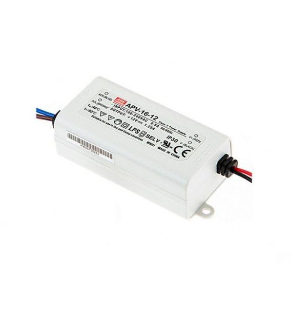 Transformātors APV-16-12 16W 12V 1,25A IP30 APV-16-12